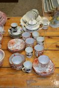 QTY OF CUPS AND SAUCERS ETC