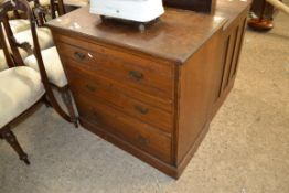 MID-20TH CENTURY CHEST OF DRAWERS, WIDTH APPROX 84CM