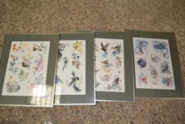 PRINTS OF FLOWERS AND BIRDS