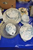 QTY OF DINNER WARES BY ROYAL DOULTON IN THE THISTLE PATTERN