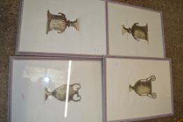 SERIES OF THREE PRINTS OF CLASSICAL VASES