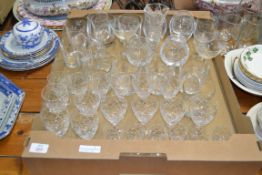QTY OF GLASS WARES