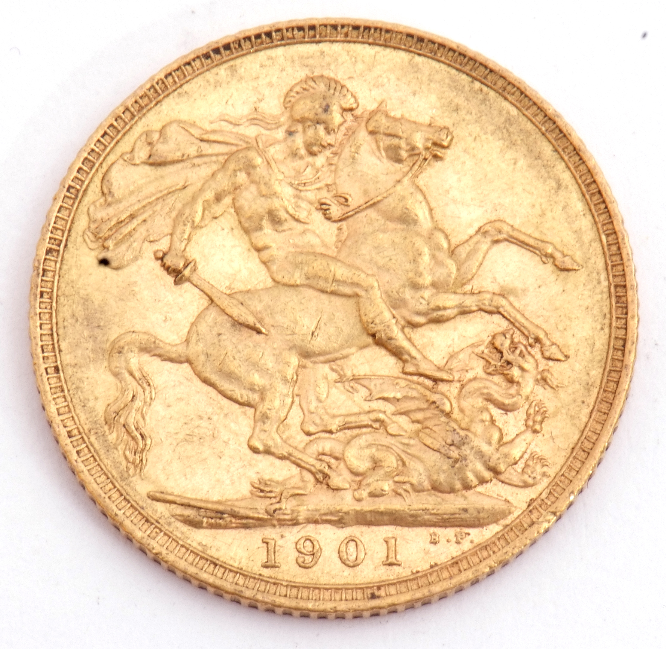 Victoria gold sovereign dated 1901 - Image 2 of 3