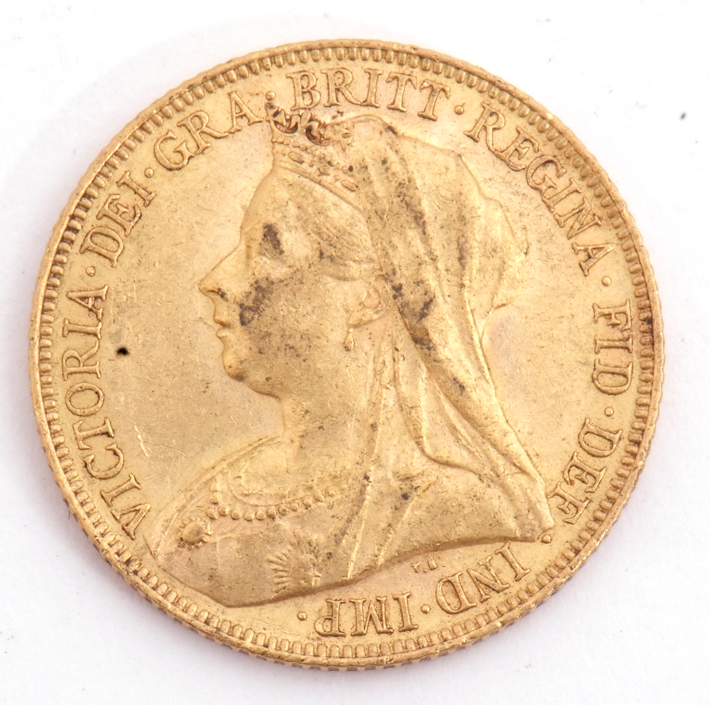 Victoria gold sovereign dated 1901