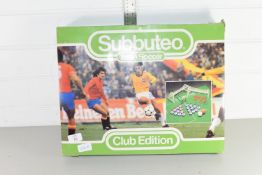 BOXED SUBBUTEO TABLE SOCCER GAME