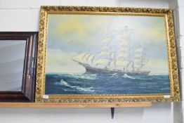 PICTURE OF A SAILING SHIP