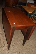 DROP LEAF DINING TABLE, WIDTH APPROX 88CM