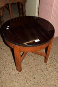 SMALL CIRCULAR OCCASIONAL TABLE, DIAM APPROX 50CM