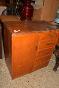 SMALL CABINET, WIDTH APPROX 76CM
