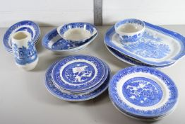 WILLOW PATTERN WARES BY ALFRED MEAKIN