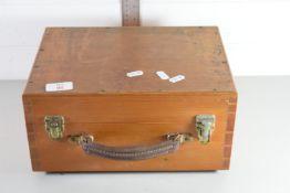 ELECTRICAL METER IN ORIGINAL WOODEN BOX