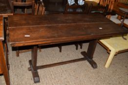 REFECTORY STYLE TABLE, APPROX 153 X 85CM