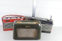 THREE VINTAGE PORTABLE RADIOS BY ROBERTS