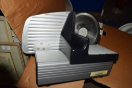 BOX OF ELECTRIC MEAT SLICER