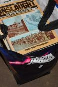 BAG OF MIXED BOOKS INCLUDING MILITARY INTEREST