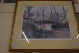 LIMITED EDITION PRINT AFTER LESLIE BLOMFIELD
