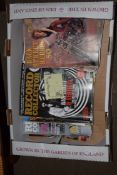 BOX CONTAINING VARIOUS RECORD COLLECTOR AND OTHER MAGAZINES