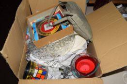 BOX OF SUNDRY CLEARANCE ITEMS