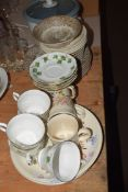 VARIOUS CHINA AND GLASS