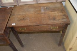 SMALL 19TH CENTURY RUSTIC STYLE SIDE TABLE (A/F)