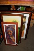 QTY OF FRAMED PICTURES