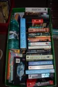 """BOX CONTAINING VOLUMES """"THE OLD WEST"""" BOOKS"""