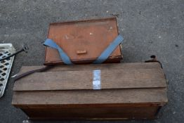 TWO PIGEON TRAVELLING CASES