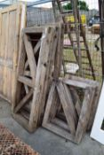 QTY OF RECLAIMED TIMBER