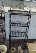 PAIR OF CONSERVATORY PLANT STANDS