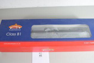 "Boxed Bachmann 00 gauge 31-713 Class B1 ""Gazelle"" BR lined black late crest No 61003 locomotive"