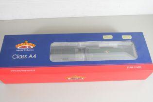 """Boxed Bachmann 00 gauge 31-966 Class A4 """"Dwight D Eisenhower"""", BR green, late crest, No 60008"""