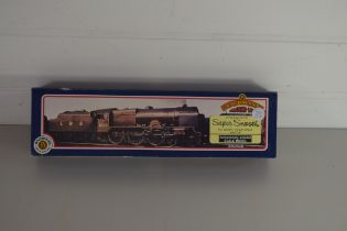 """Boxed Bachmann 00 gauge 31-276 Royal Scot """"The Cheshire Regiment"""", 4000gall tender, LMS black No"""
