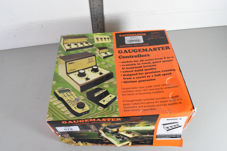 Boxed Gaugemaster controller