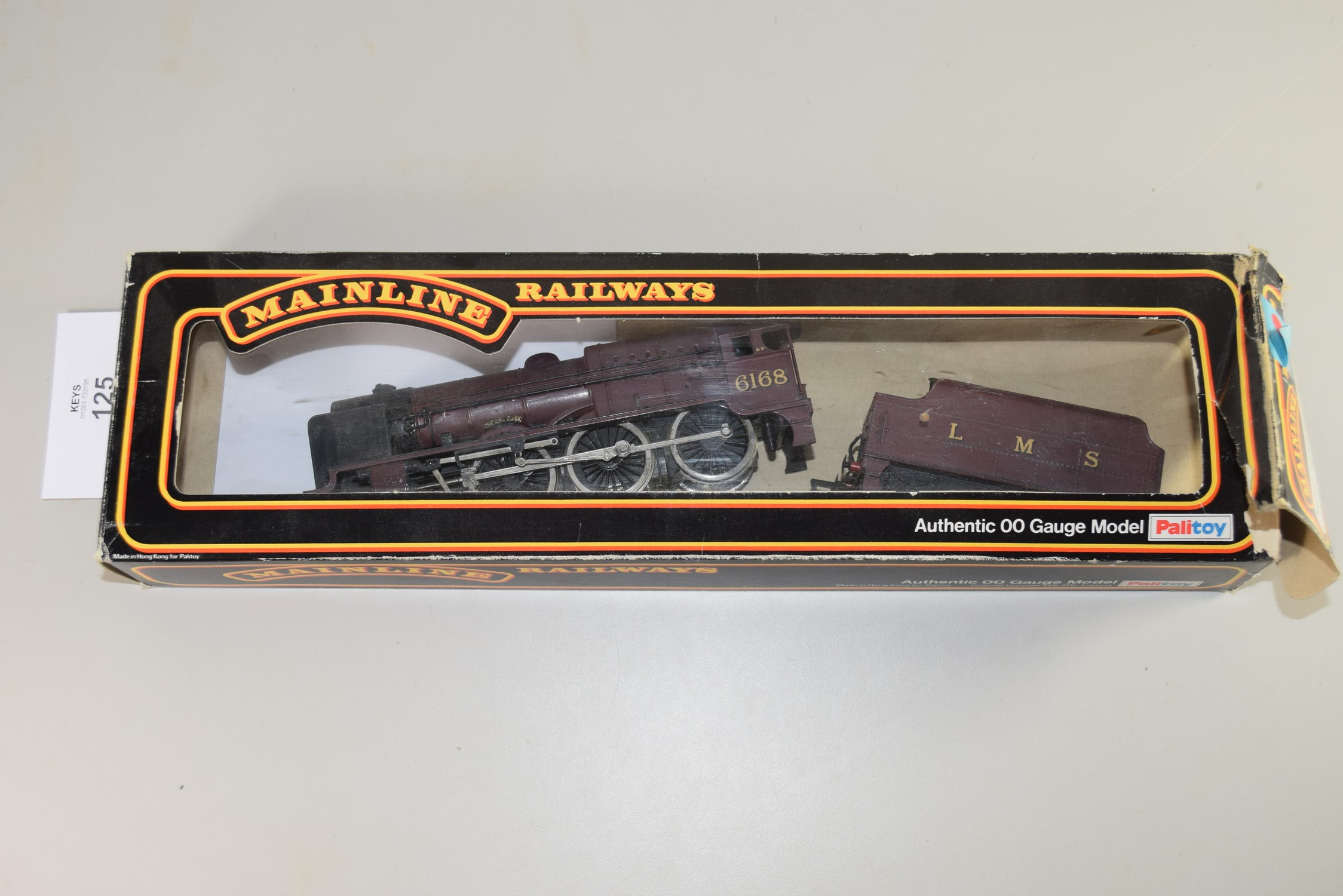 """Mainline Railways 00 gauge """"The Girl Guide"""" locomotive No 6168 (in replacement box)"""