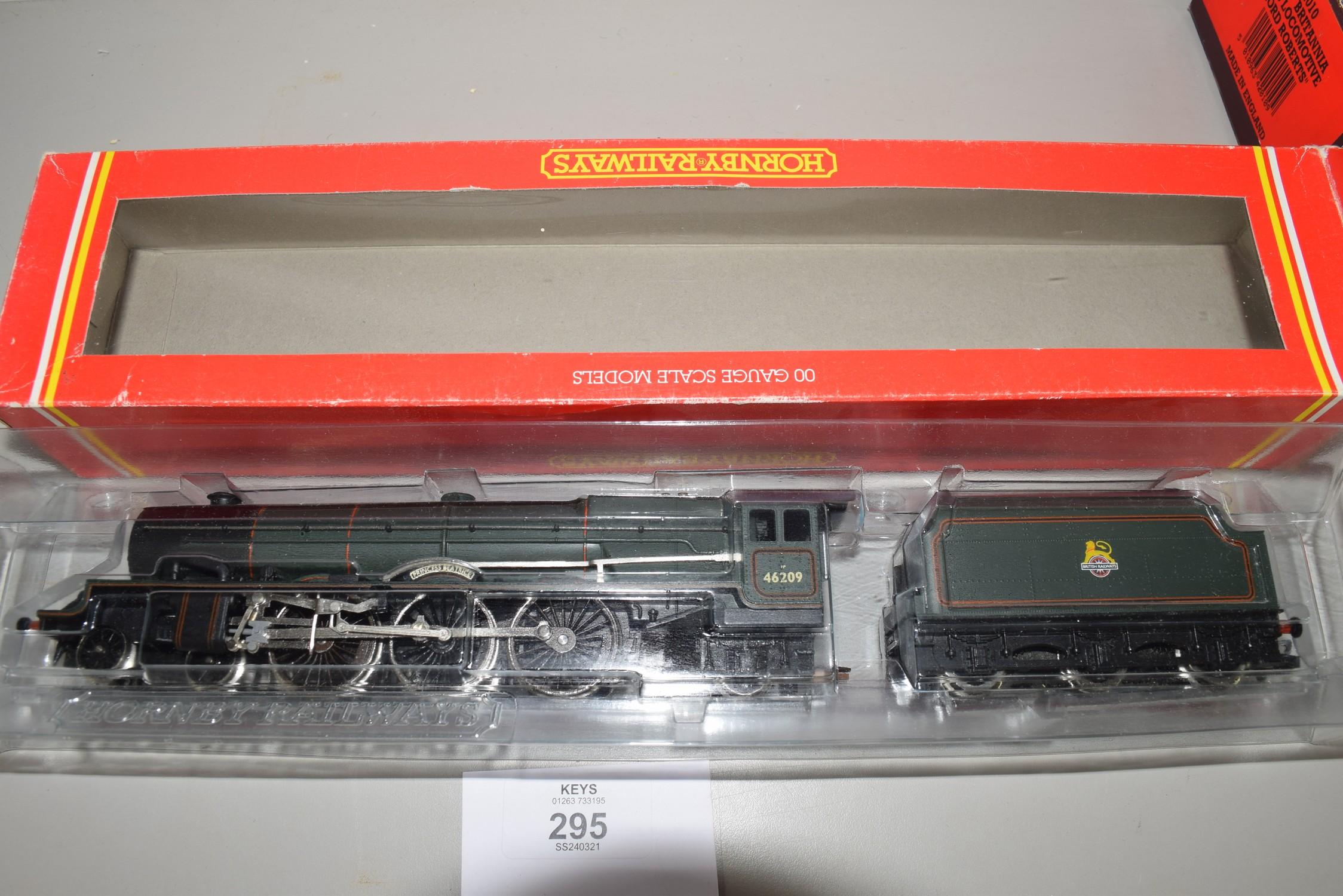 "Boxed Hornby 00 gauge R196 BR 4-6-2 Princess class ""Princess Beatrice"" locomotive No 46209 - Image 2 of 2"