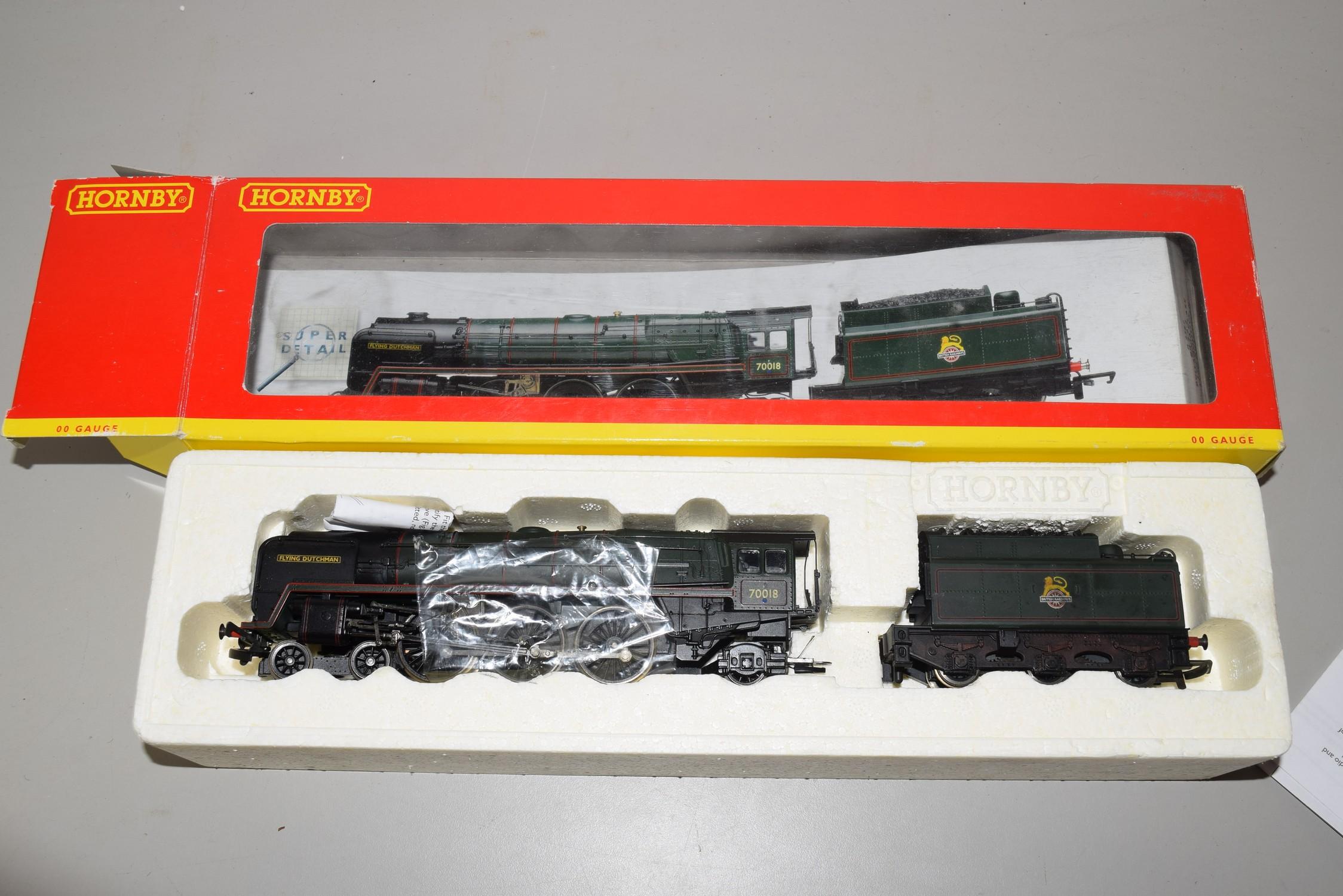 "Boxed Hornby 00 gauge R2387 BR 4-6-2 Britannia class ""Flying Dutchman"" locomotive No 70018"