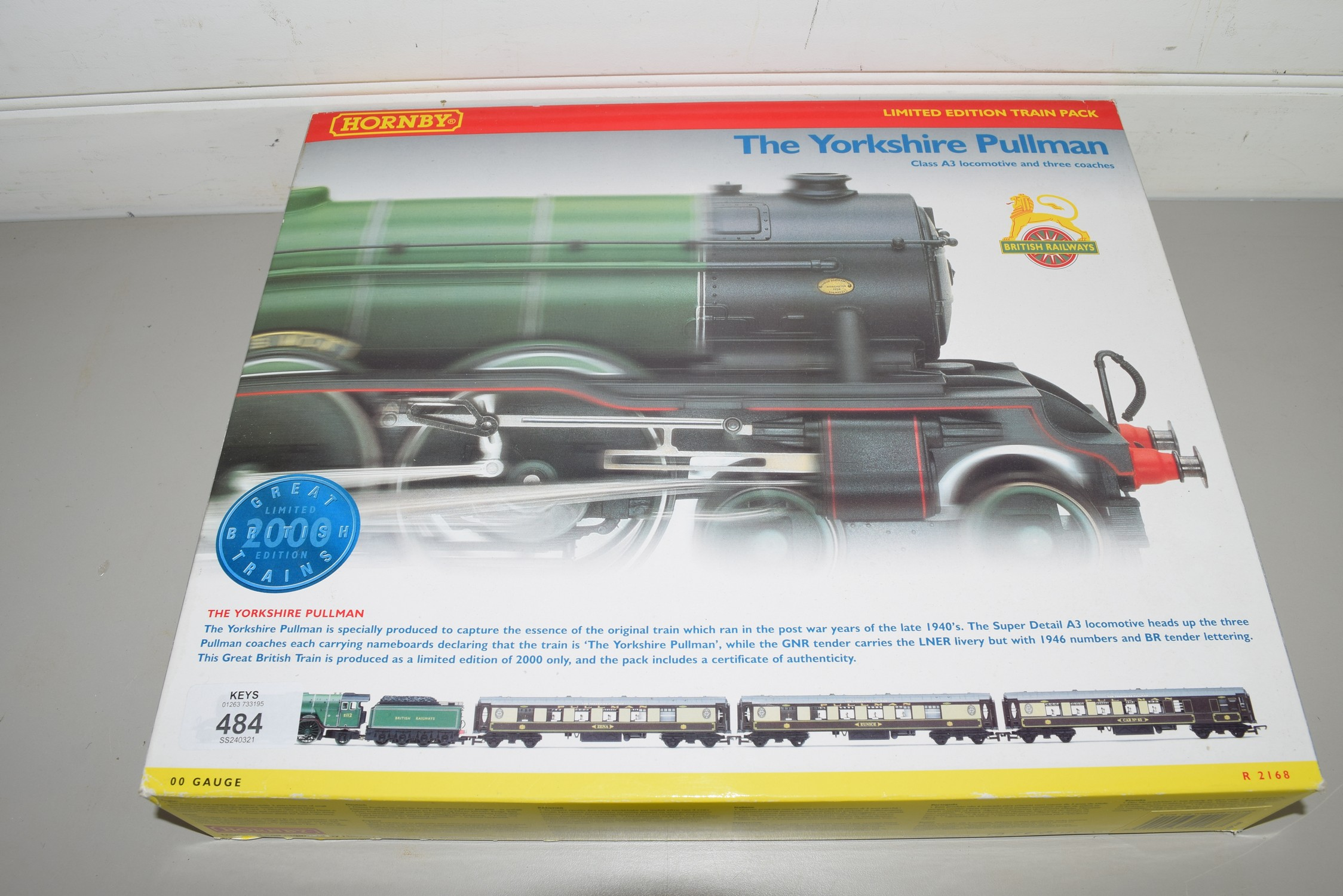 """Boxed Hornby 00 gauge """"The Yorkshire Pullman"""" set"""