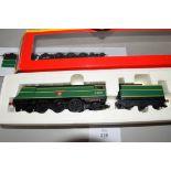 "Boxed Hornby 00 gauge R2691 BR 4-6-2 West Country class ""Torrington"" locomotive No 34031"