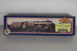 """Boxed Bachmann 00 gauge 31-277 Royal Scot """"Sherwood Foresters"""" 3500gall tender LMS red No 6112"""