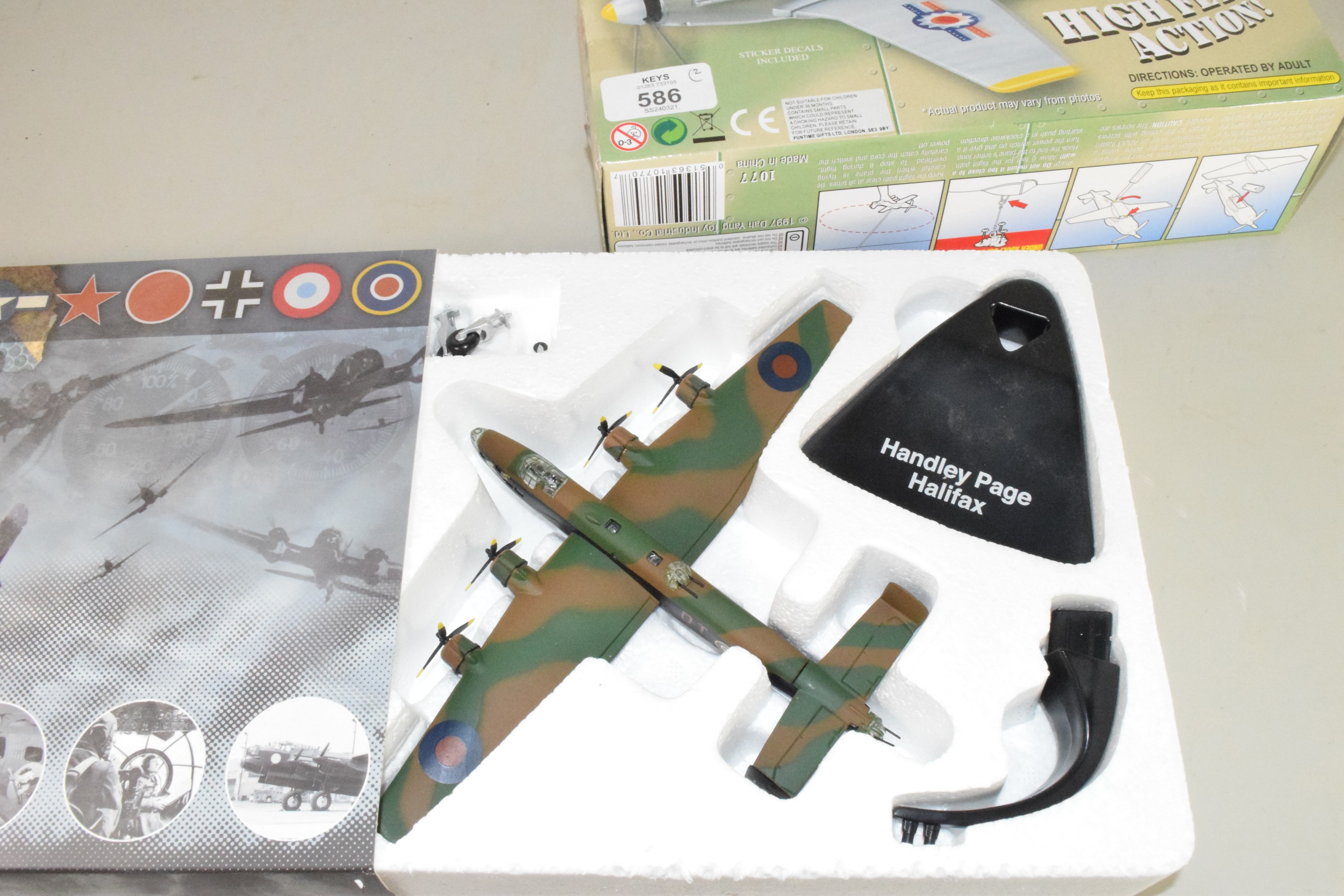Boxed Skyfighter aircraft together with a boxed Atlas Editions WWII aircraft - Image 2 of 2