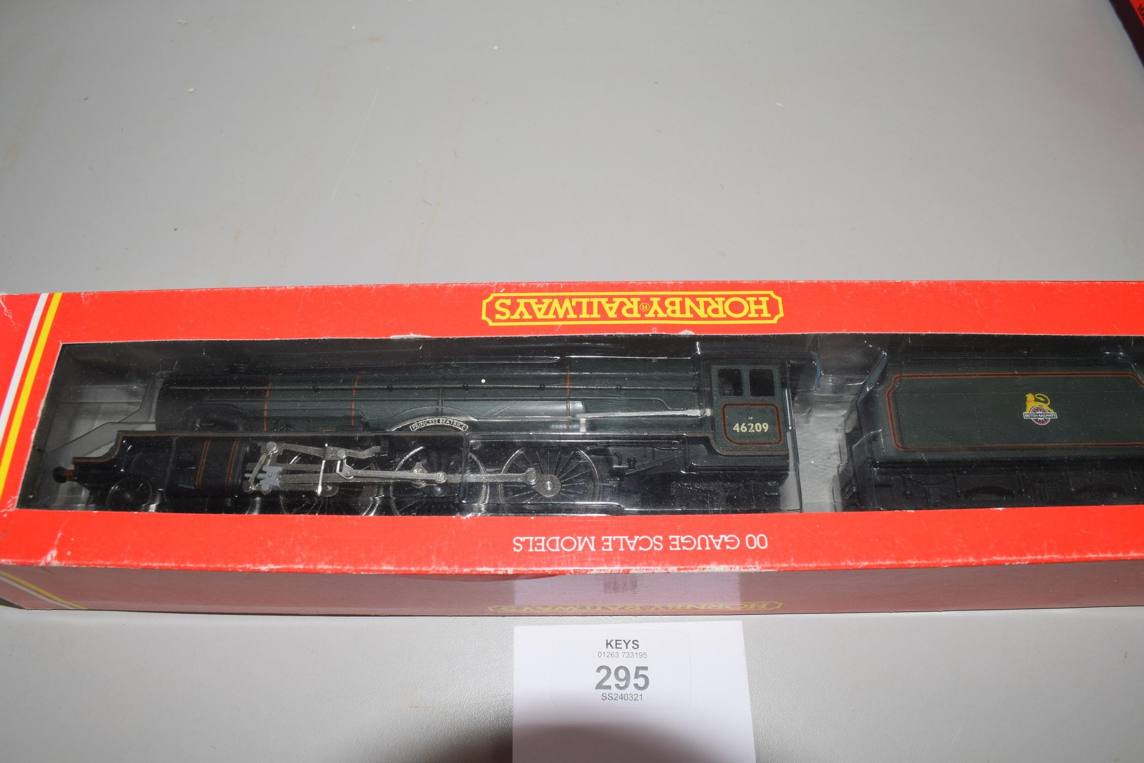 "Boxed Hornby 00 gauge R196 BR 4-6-2 Princess class ""Princess Beatrice"" locomotive No 46209"
