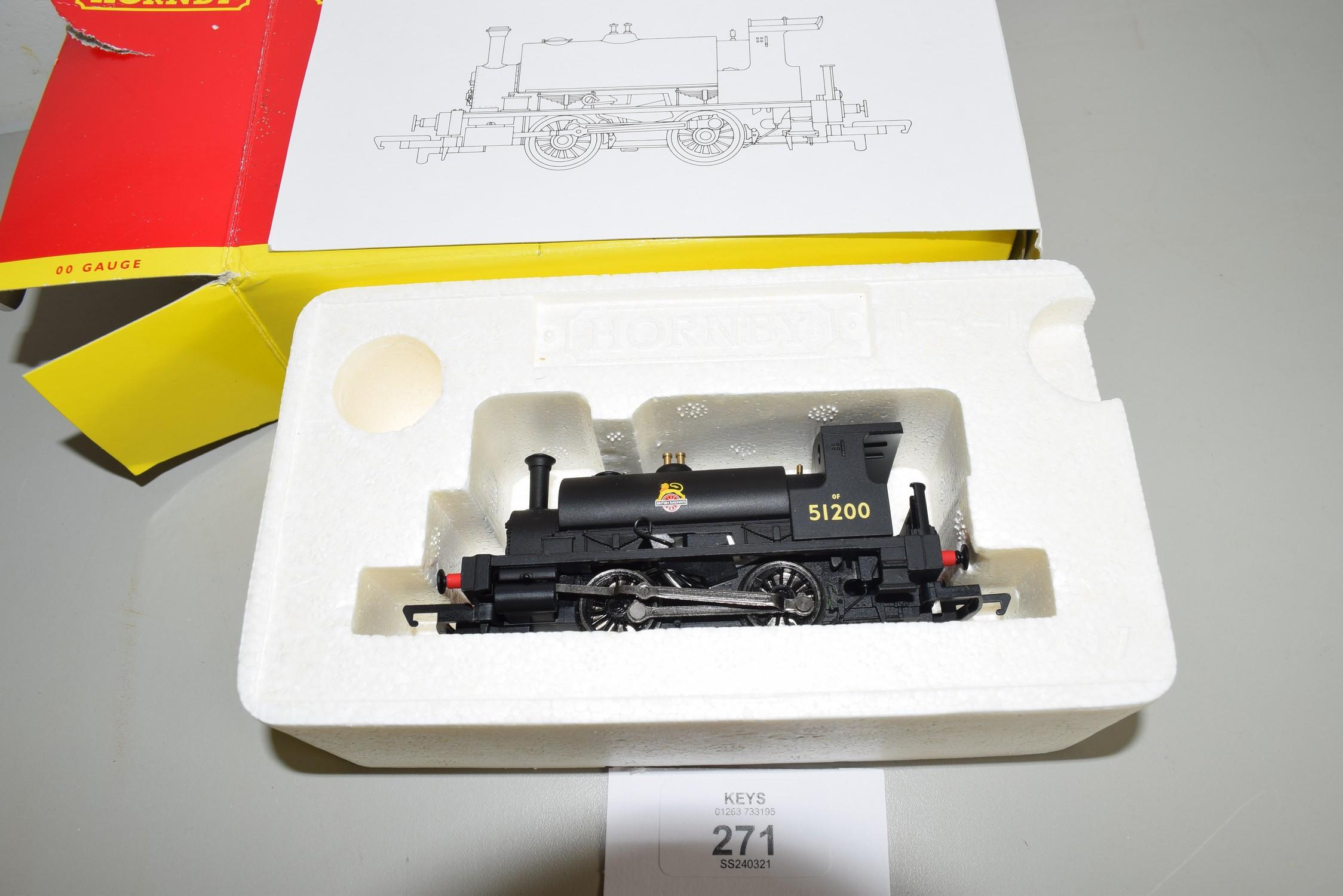 Boxed Hornby 00 gauge R2960 BR 0-4-0 Hornby Collector Club locomotive 2010 No 51200