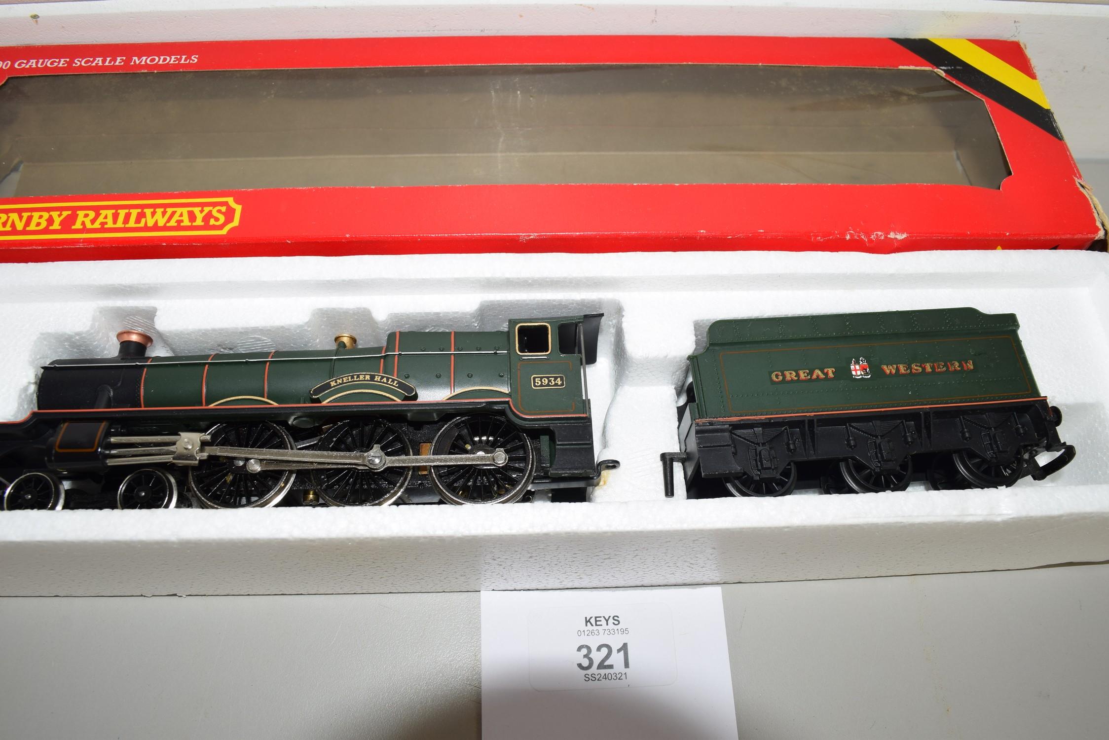 "Boxed Hornby 00 gauge ""Kneller Hall"" locomotive No 5934 (incorrect box)"