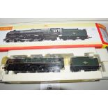 "Boxed Hornby 00 gauge R2847 BR late Sanders class ""Clan Macleod"" locomotive No 72008"