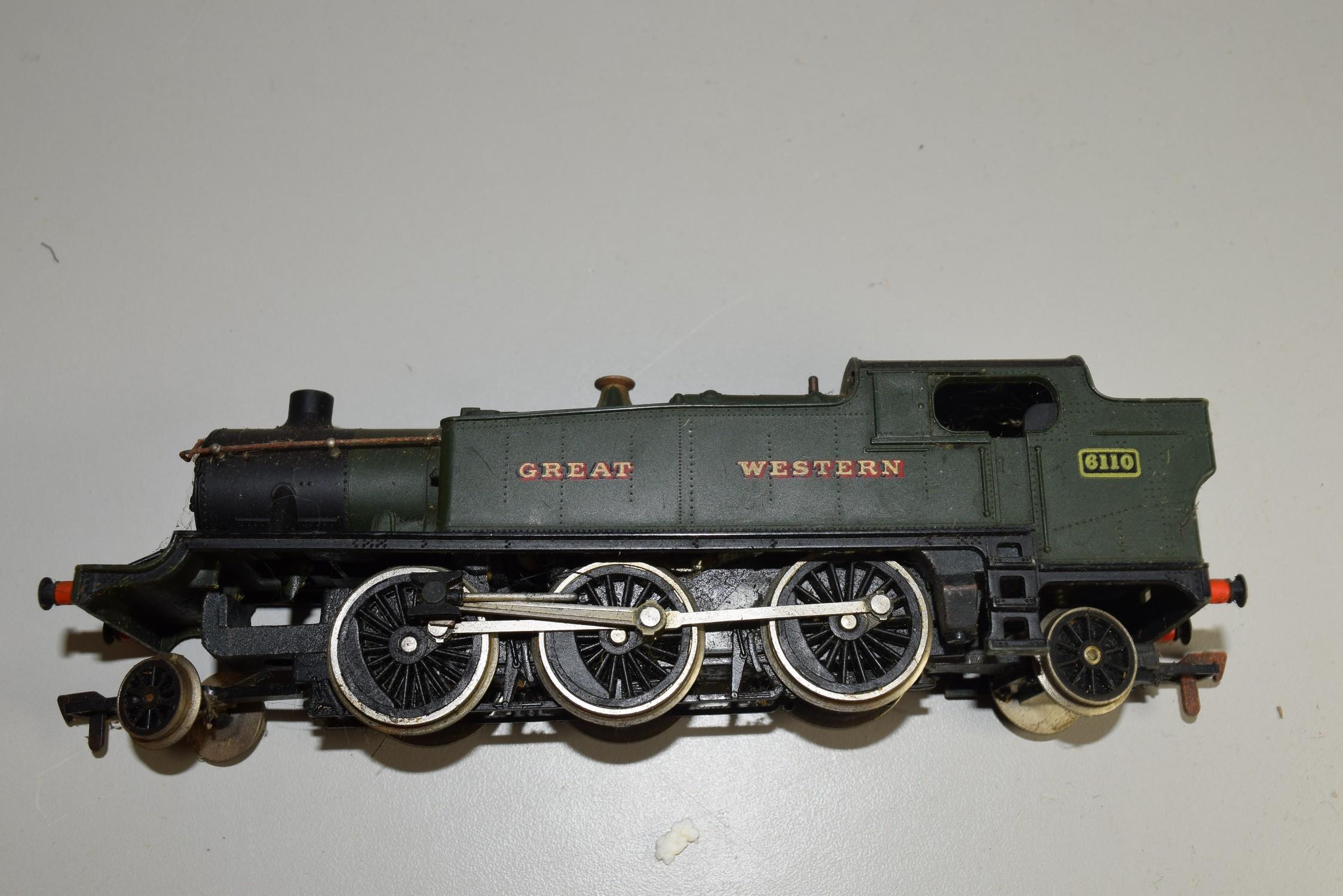 Unboxed Airfix GW locomotive no 6110