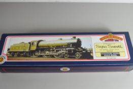 "Boxed Bachmann 00 gauge 31-701 B1 ""Viscount Ridley"" BR black, electric generator No 61241"