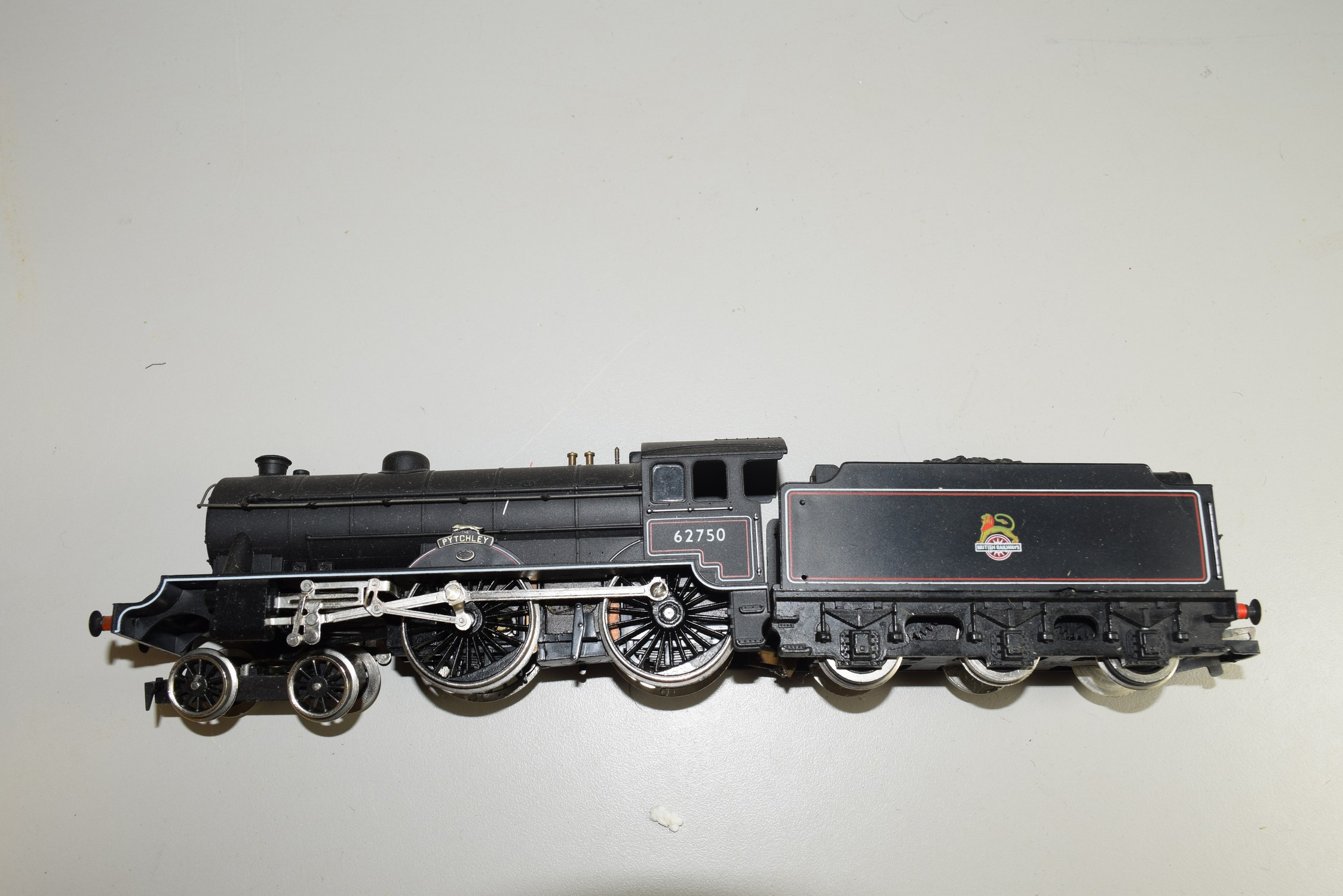 """Unboxed Hornby 00 gauge """"The Pytchley"""" locomotive no 62750"""