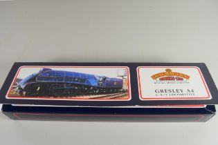 """Boxed Bachmann 00 gauge 31-955 A4 """"Dominion of New Zealand"""", BR green, early emblem, No 60013"""