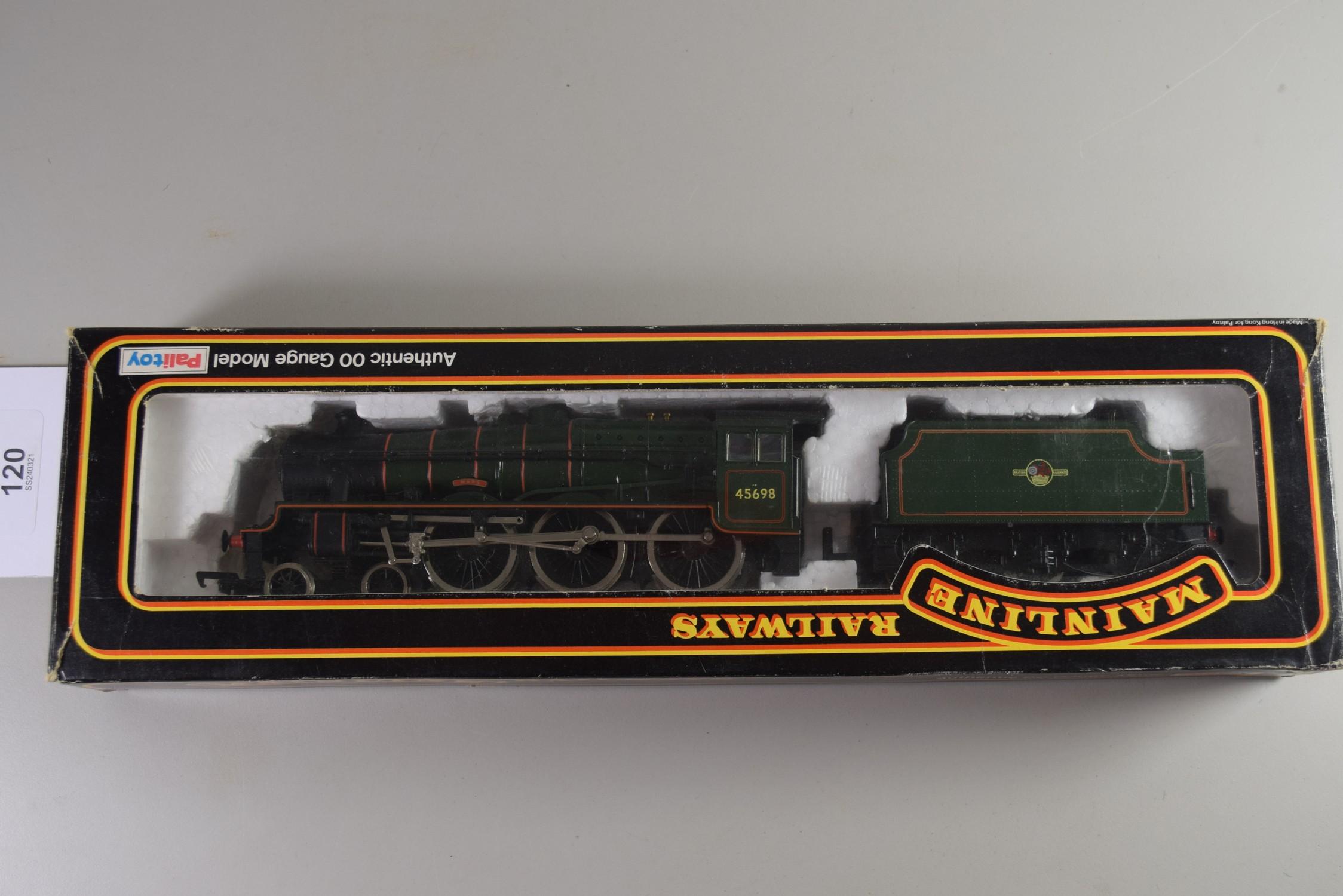 "Boxed Mainline Railways 00 gauge ""Mars"" locomotive No 45698"