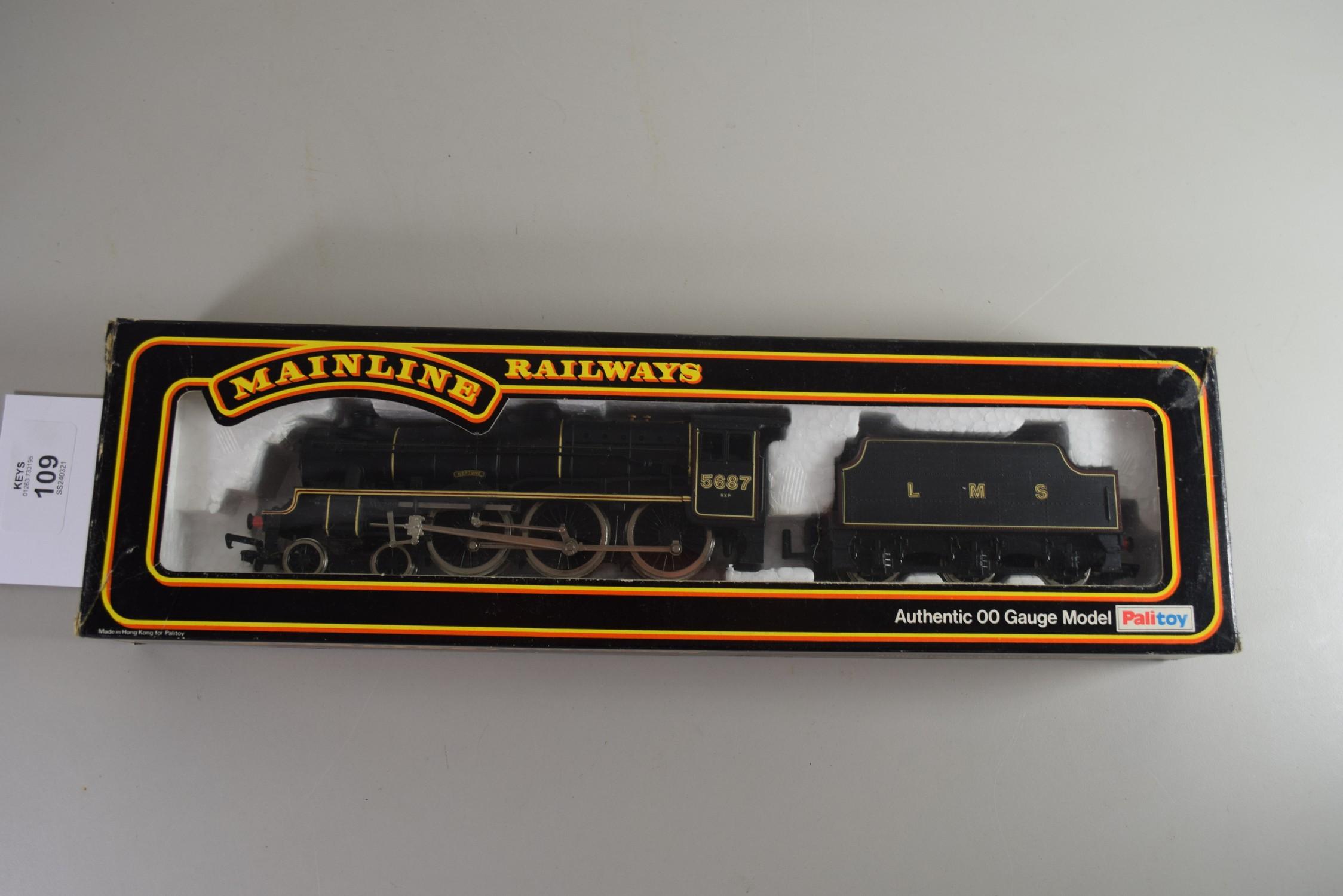 "Boxed Mainline Railways 00 gauge ""Neptune"" locomotive No 5687"